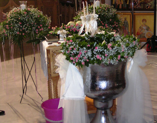 Baptism Arrangement